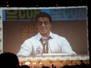 Sylvester Stallone at Comic Con 2010