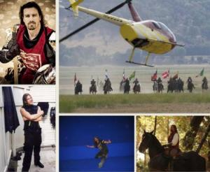 Stuntman and actor Geoff McAlister