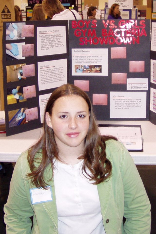 Amber's winnings at regional science fairs helped her get into an elite magnet school, too, and ultimately earned cash for college, where she's now a senior.