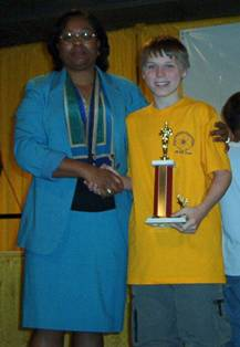 My grandson Zach got his first regional science fair trophy in 2002. That led him to an elite junior high and high school science program, and a competitive college.