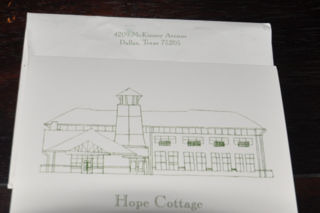 Hope Cottage Birthday card