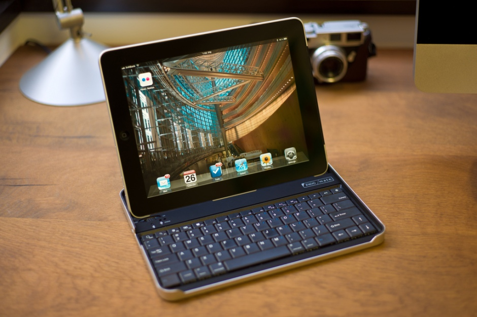 iPad with Zag Keyboard