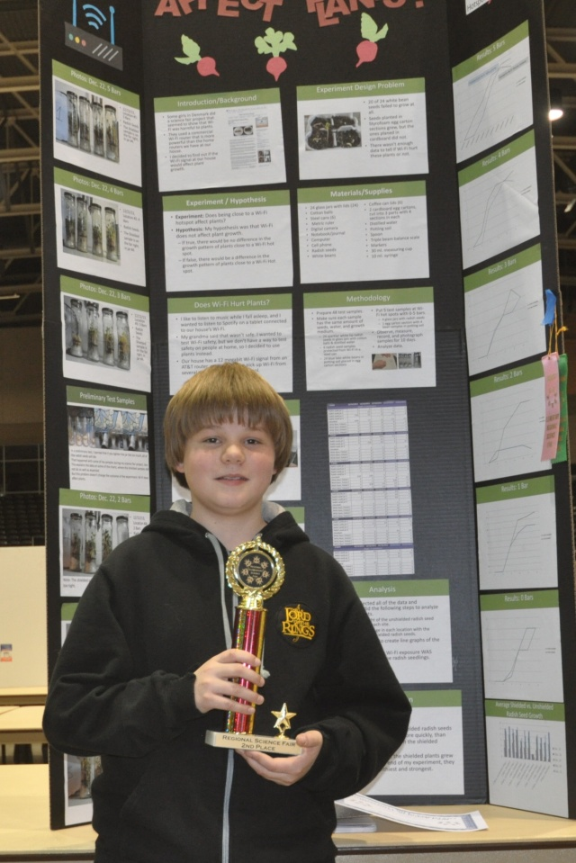 North Dallas Regional Science Fair 6th Grade Life Sciences 2014