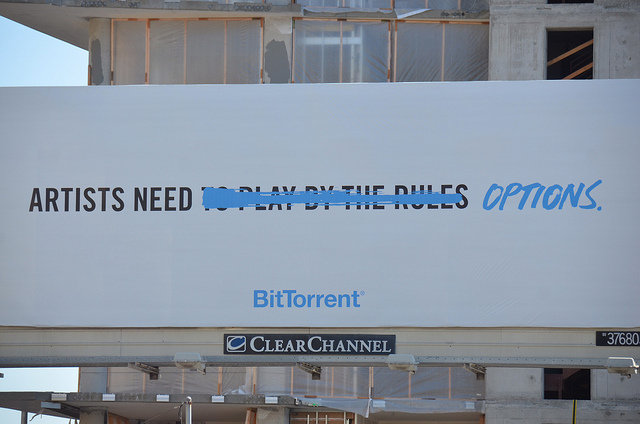BitTorrent Billboard by Steve Rhodes