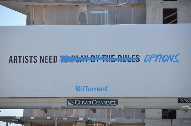 BitTorrent Billboard by Steve Rhodes