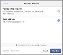 Facebook quizzes pose privacy risks