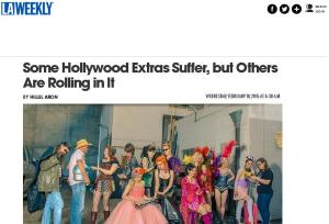 LA Weekly Article about Screen Extras