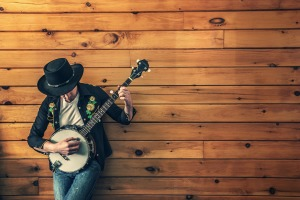 Banjo player by Ryan McGuire from Pixabay