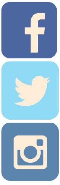 Big Three Social Media icons